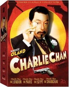Charlie Chan DVD Sleeve